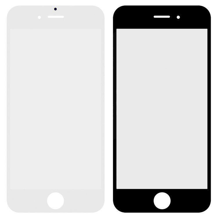 Корпусное стекло дисплея Apple iPhone 6 белый, копия