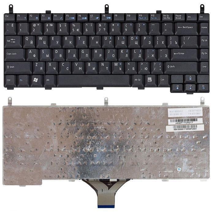 Клавіатура для ноутбука Acer Aspire (1350) Black, UA
