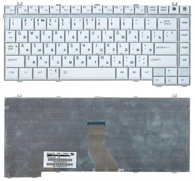 Клавиатура для ноутбука Toshiba Qosmio F20 / NSK-T4M01