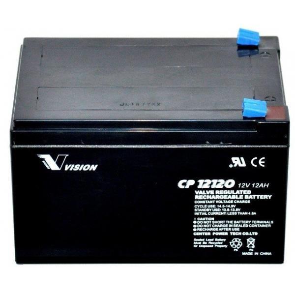 Аккумуляторная батарея Vision 12V 12AH (CP12120)