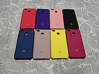 Силиконовый брендовый Soft-touch чехол для Xiaomi (Ксиоми) Redmi 4X