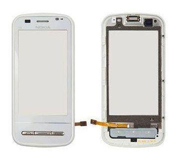 Сенсор (тачскрін) Nokia C6-00 with frame (original) White
