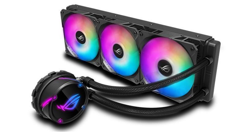 Система охлаждения Asus ROG Strix LC 360 RGB Black