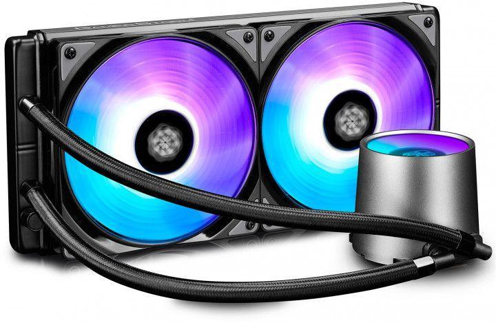Система охлаждения Deepcool CASTLE 280 RGB