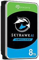 Жесткий диск Seagate SkyHawk HDD 8TB 7200rpm 256MB 3.5 SATAIII (ST8000VX004)