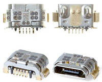 Разъем зарядки (гнездо) Huawei P9 Lite / Y3 (2017) / Y5 (2017) / Y6 II 5 pin micro-USB тип-B