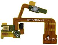 Шлейф Sony C6502 L35h Xperia ZL / C6503 / C6506 c мікрофоном, кнопкою камери