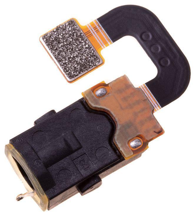 Шлейф Nokia 7 Plus TA-1055 / Dual Sim TA-1046 з роз'ємом навушників і мікрофоном