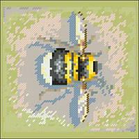 Схема на канве для вышивки крестом Пчелка 2 Ркан 5022