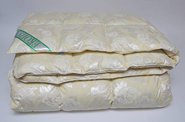 Одеяло пуховое Экопух 200х220см, 50% пух/50% перо 1505, фото 2