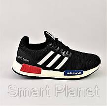 Кроссовки Adidas Чёрные Мужские Адидас (размеры: 40,41,42,43,44) Видео Обзор, фото 3