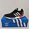 Кроссовки Adidas Чёрные Мужские Адидас (размеры: 40,41,42,43,44) Видео Обзор, фото 5