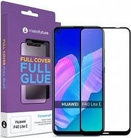 Защитное стекло MakeFuture Full Cover Full Glue Huawei P40 Lite E Black (MGF-HUP40LE)