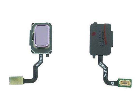 Шлейф Samsung Galaxy Note 9 N960 со сканером отпечатка пальца Lavender Purple