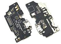 Шлейф Asus ZenFone 4 Selfie (ZD553KL) нижня плата з роз'ємом зарядки і мікрофоном