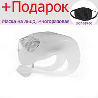 Велосипедная Фара, фонарь велосипедный LED  Белый