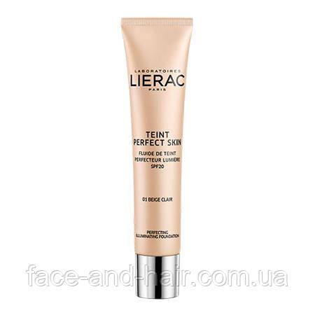 Тональный флюид Lierac Teint Perfect Skin 01 светло-бежевый 30 мл