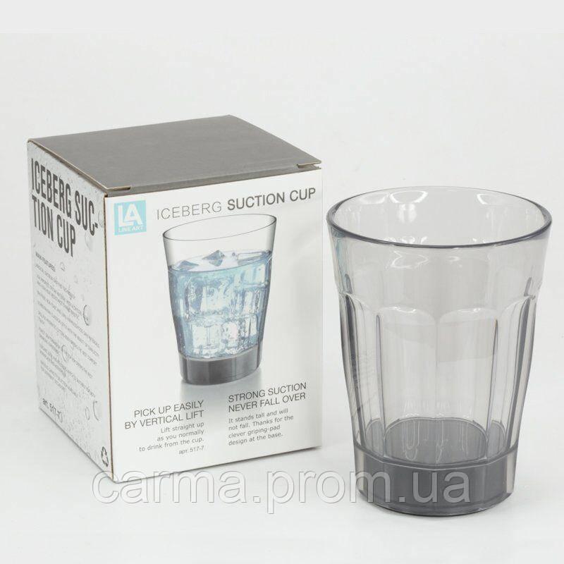 Стакан с присоской suction cup 280.0 ml Прозрачный