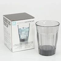 Стакан с присоской suction cup 280.0 ml Прозрачный, фото 1