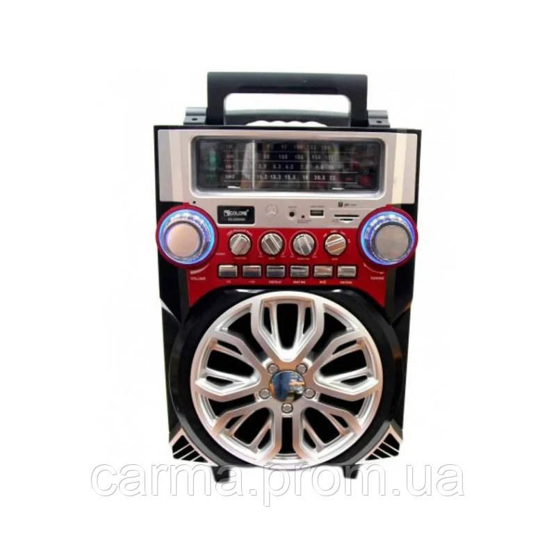 Мобильная акустическая система AMC RX-2099 Черный/Красный