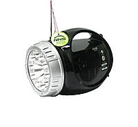 Радиоприемник портативный с фонарем NS-065U-1 Черный