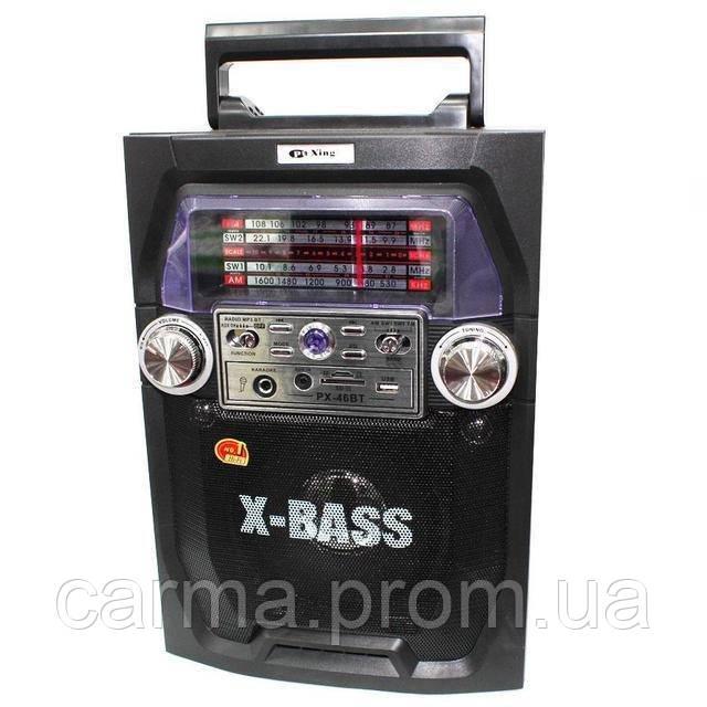 Радиоприемник портативный Pu Xing PX-Q7 Черный