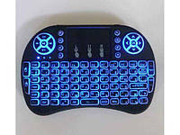 Клавіатура бездротова USB з тачпадом і підсвічуванням Mini Keyboard ТМКитай (код 938251)