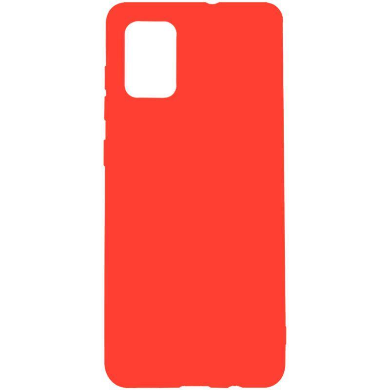 Чехол накладка для Samsung A715 (A71) Red Mobikin