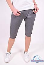 Бриджи женские трикотажные  (цв.т/серый) Maraton MWSS1918075CPR002 Размер:46,48,52