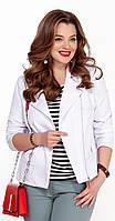 Куртка TEZA-1238 белорусский трикотаж, белый, 48, фото 1