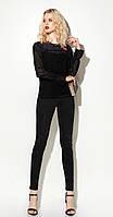 Блузка Prio-712940 белорусский трикотаж, черный, 40, фото 1