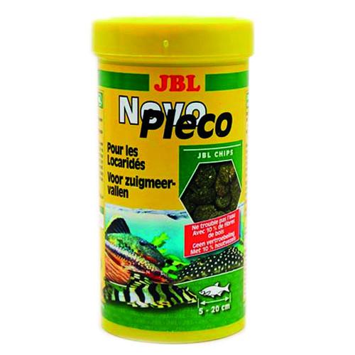 Основной корм JBL NovoPleco для небольших и средних кольчужных сомов, 1 л