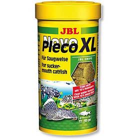 Основний корм JBL NovoPleco XL для великих кольчужних сомів, 250 мл