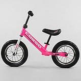 Детский беговел (велобег) Corso 63908 розовый, фото 2