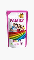 FAMILY Гель для стирки цветных вещей 1000г (DOYPACK)