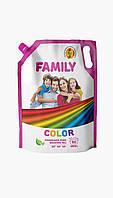 FAMILY Гель для стирки цветных вещей 2000г (DOYPACK)