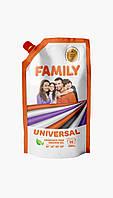 FAMILY Гель для стирки универсальный 1000г (DOYPACK)