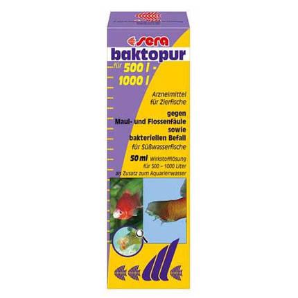 Sera Baktopur засіб проти бактеріальної інфекції (плавникова гниль) на 1000 л - 50 мл, фото 2