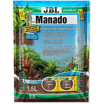Натуральный субстрат JBL Manado для пресноводных аквариумов, 1,5 л, фото 2