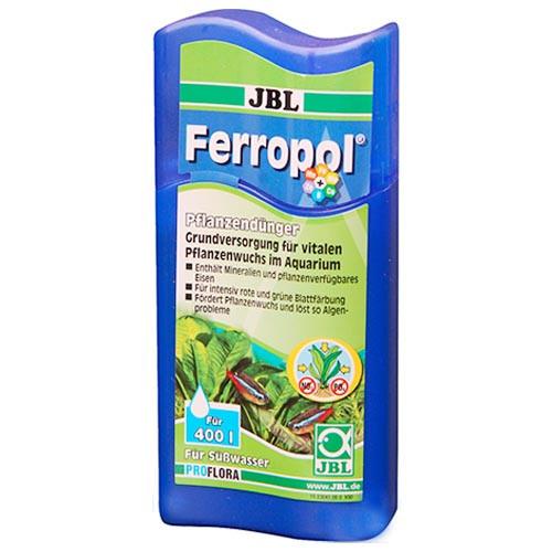 Удобрение JBL PROFLORA Ferropol для растений в пресноводных аквариумах, 625 мл