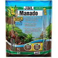 Натуральный субстрат JBL Manado для пресноводных аквариумов, 5 л