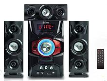 Домашній кінотеатр сабвуфер і 3 колонки 60W USBFM-DC5306F-DT
