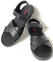Шок! Levis летние кожаные сандалии мужские босоножки Левис