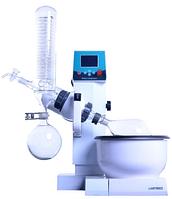 Ротационный испаритель RE-2000E с баней с тефлоновым покрытием, 0,5 - 2 л, автоподъемник, ЖК-дисплей