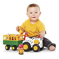 Игровой набор Kiddieland Трактор сафари 51169 ТМ: Kiddieland