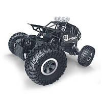 Автомобиль OFF-ROAD CRAWLER на р/у MAX SPEED (матовый черный, метал. корпус, 1:18)