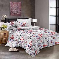 """Комплект постельного белья Тиротекс бязь """" London News"""""""