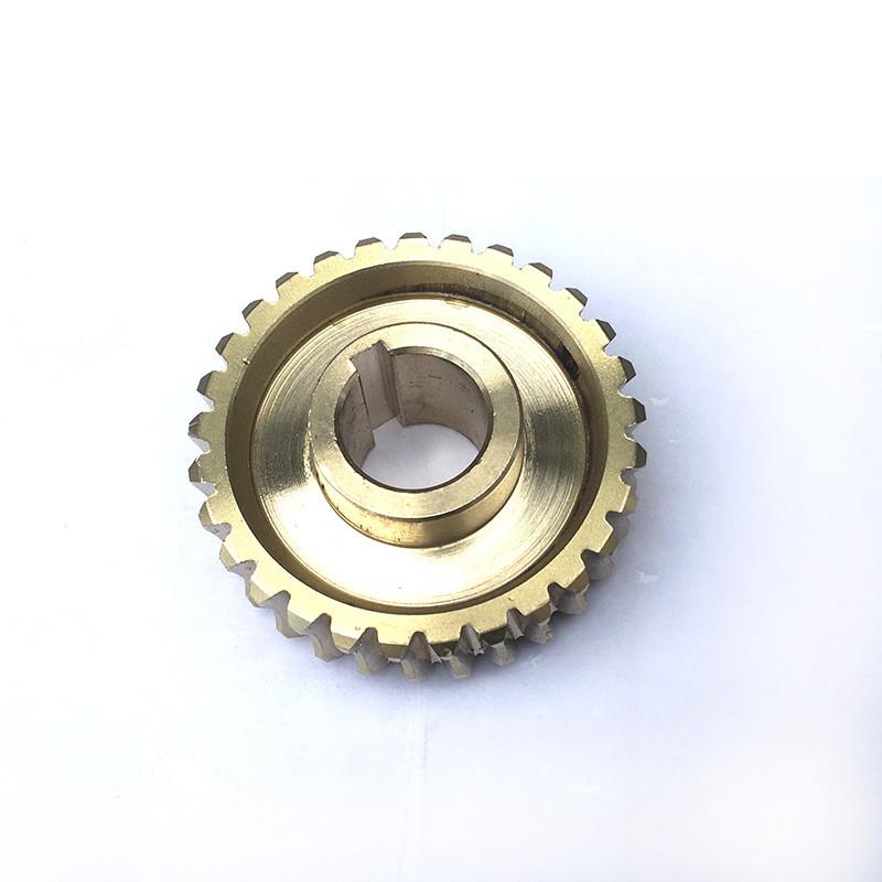 Шестерня редуктора для культиватора Могильов МТ-62 (29 зубів, латунь)