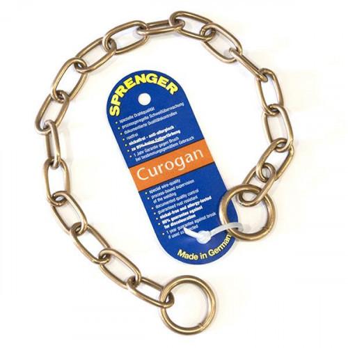 Ошейник Sprenger Long Link со средним звеном для собак, куроганная сталь, 3 мм, 50 см