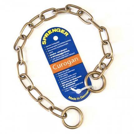 Ошейник Sprenger Long Link со средним звеном для собак, куроганная сталь, 3 мм, 50 см, фото 2